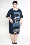 Большие размеры. платье М2606а, размер 64-68. Распродажа!