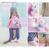 Интерьерная кукла «Лора», набор для шитья, 18 x 22.5 x 2.5 см