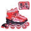 Ролики U028423Y (размер L38-43) красные, в пакете