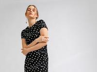 Платье в горох PL905/trooko
