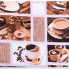 Полотенце ваф. кухонное - Кофе
