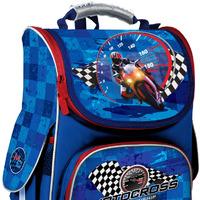 Рюкзак школьный каркасный 501 Motocross