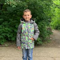 1204  Куртка для мальчика демисезонная