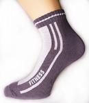 Короткие спортивные мужские/подростковые носки «Fitness»