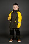 Комплект утепленный для мальчика Куртка + полукомбинезон