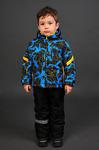 Комплект утепленный Куртка + брюки с лямками