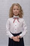 Блузка для девочки Триколор (ШФ-1580)