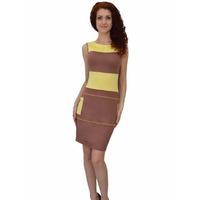 1205 Платье Нежно-желтый