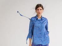 Блузка с принтом B2376/kazimira