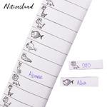 Набор 100 ярлыков «Зверята» на одежду