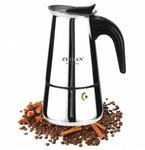 Кофеварка гейзерная Zeidan Z-4072 300мл 6 чашки нерж