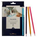 Карандаши акварельные 18 цветов BrunoVisconti Aquarelle