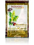 Шампунь для волос Кеш Канти Ритха, 8 мл, Патанджали; Shampoo Kesh Kanti Reetha, 8 ml, Patanjali