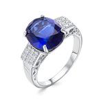 Кольцо серебряное 925  Артикул:10-0315 сап