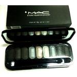 Тени для глаз и бровей MAC 9 Color Eyebrow Powder 10g №4
