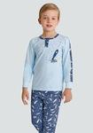 Пижама для мальчика, цвет голубой, р. 98-122, Baykar