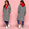 Пальто с капюшоном 11131