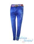 Стильные джинсы для мальчиков, ремень в комплекте