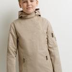 Куртка детская для мальчиков Tommen темно-бежевый [20110130168#0]