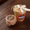 Подарочный крафт-стакан для варенья