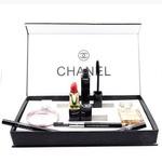 Подарочный набор Chanel 5в1 (Духи 2 вида, Помада, Тушь, Карандаш)   Парфюм в подарок!