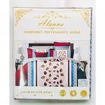 Комплект постельного белья Alanna Сатин 1,5-спальный