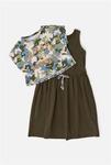 Комплект для девочек ((1) футболка и (2) платье) Elec ассорти [20210200318#0]