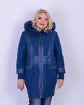 Женская куртка зимняя с вареной шерстью  Код: 3621-15