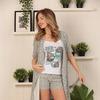 Комплект Халат+Пижама  Артикул: 7876-10