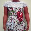 Платье для девочек (лён)