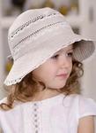 "Шляпа для девочки ""Кружевница"""