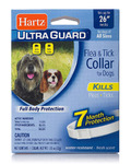 """Hartz UltraGuard Flea & Tick Collar for Dogs and Puppies - 26"""" Neck, 7 Month Protection"""
