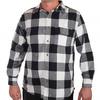 Мужская рубашка Old Mill в черно-белую клетку – выбор мужчин, которые носят то, что нравится, а не то, что навязывается №129 ОСТАТКИ СЛАДКИ!!!!