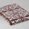 Одеяла хлопковые жаккард 2сп - Орнамент коричневый