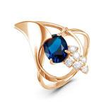 Позолоченное кольцо 775 - п