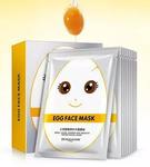 Маска тканевая Bioaqua Egg Face Mask Small Eggs Tender And Smooth Water Facial Mask 30g
