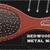 RedWood Metal Расчёска с металическими прутиками и капельками (7 мм)