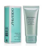 Гель-пилинг для умывания Shiseido Green Tea Whitening and Removing Dead Skin Element 60ml