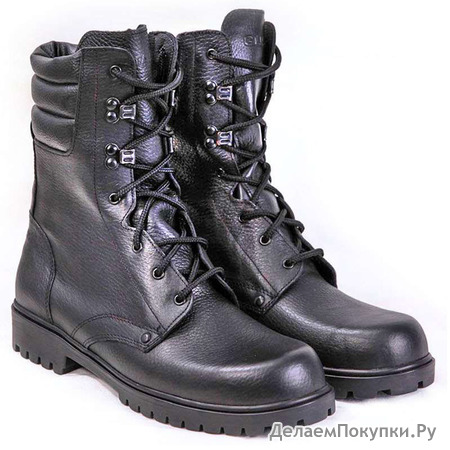 Ботинки с высоким берцем М-2055 ТРОП, зима, рр 39-45