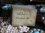 Мыло лечебное оливково-лавровое традиционное чистое с 45% лаврового масла Zahera Amani