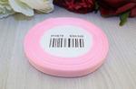 Репсовая лента однотонная (розовый) 10мм * 20 ярдов (+-1м) S10/105