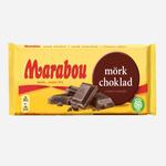 Шоколад Marabou Mork Choklad (тёмный шоколад) — 200 гр