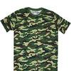 футболка камуфляж зеленая