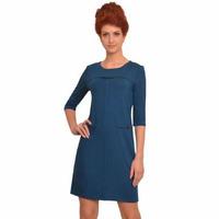 1440 Платье Сине-зеленый изумруд