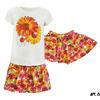 Комплект футболка+юбка для девочки