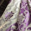Блэкаут двусторонний корона L443 фиолетовый 280 см