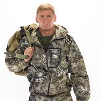 "Костюм ""ТУРИСТ 1"" куртка/брюки цвет: кмф ""Питон зеленый"", ткань: Грета"