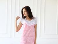 Дуняша с кружевом сорочка (батист)
