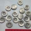 Пуговицы под матовое серебро 21 мм