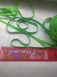 Резинка цветная продежная салатовый 8 мм( за 1 м)